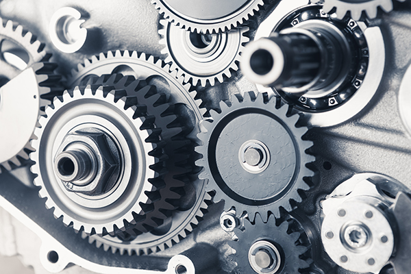 System of gears to illustrated automation during the email process.